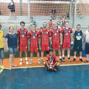 Equipe vencedora masculina – Bauhaus Vôlei