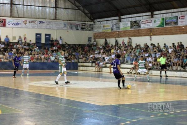 Campeonato municipal  de futsal de 2017. (Foto: Portal Nova Santa Rosa)