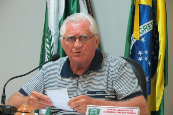 Vereador Pedro Rauber é o autor do projeto de lei (Foto: Cristiano Viteck )