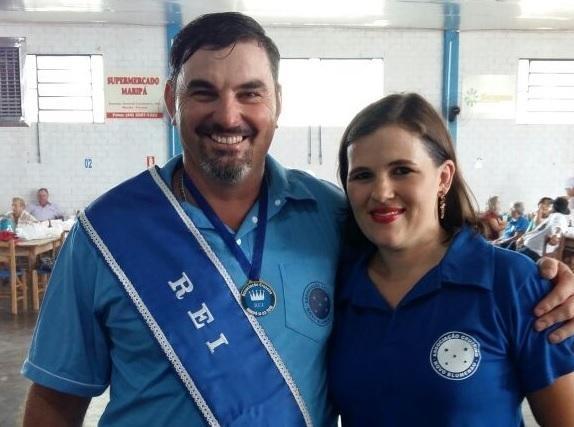 Marcos Jose Ullmann e a esposa Eliane Schneider da Distribuidora Joia do Oeste. (Foto: Divulgação)