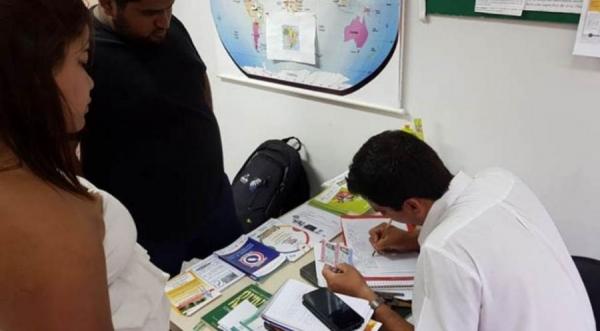 Sem vacina, dois a três brasileiros são barrados por dia em Cidade do Leste (Foto: Divulgação )