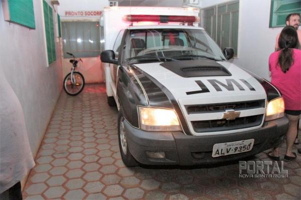 O IML esteve no Hospital Lar Belém. (Foto: Portal Nova Santa Rosa)