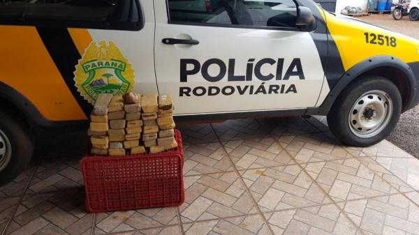 A droga totalizou 19,72Kg. (Foto: PRE)