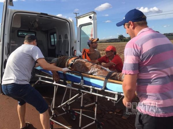 Ademir Silveira entrou em óbito após a colisão. (Foto: Portal Nova Santa Rosa)