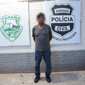 Condutor do Corsa,  José Luiz de Oliveira. (Foto: Portal Nova Santa Rosa)
