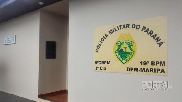 Destacamento da Polícia Militar. (Foto: Portal Nova Santa Rosa)
