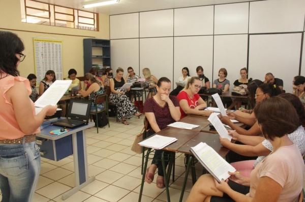 O evento aconteceu na Escola Municipal Getúlio Vargas. (Foto: Assessoria)