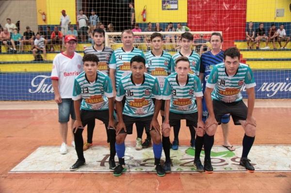Equipe da Borracharia Avenida. (Foto: Portal Nova Santa Rosa)