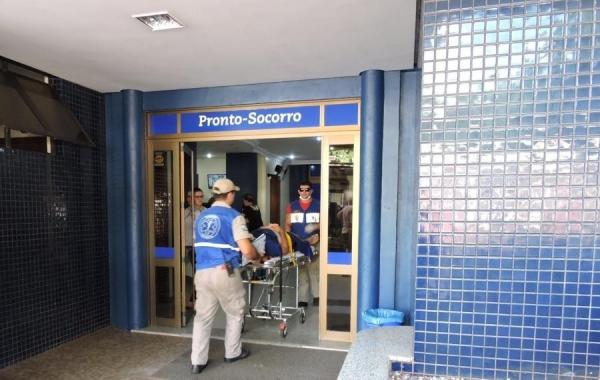 Acidente de trabalho deixa rondoniense ferido (Foto: Fernanda Bourscheidt/AquiAgora.net )