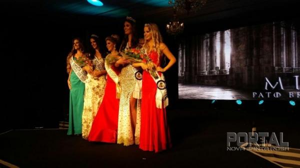a Miss Pato Bragado foi Louize Andressa Eggers Scheneider.(Foto: Marechal News)