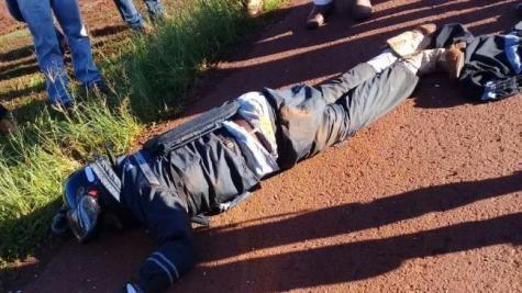 A vítima foi identificada como Willians Macedo de Almeida.. (Foto: Tribuna Popular)
