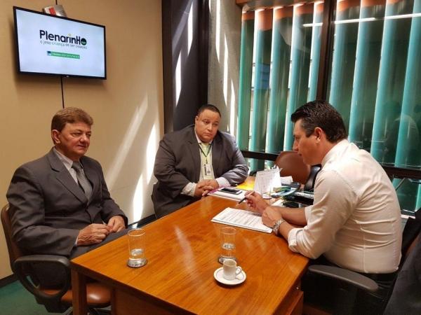 O prefeito esteve na Capital Brasília. (Foto: Divulgação)