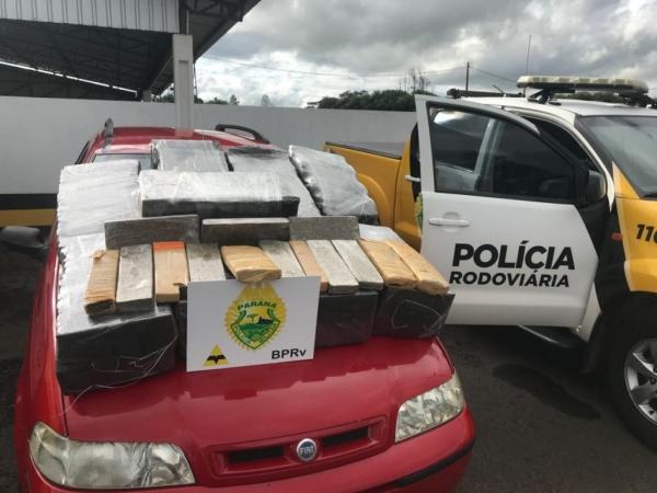 A ação de fiscalização aconteceu na rodovia PR-323. (Foto: PRE)
