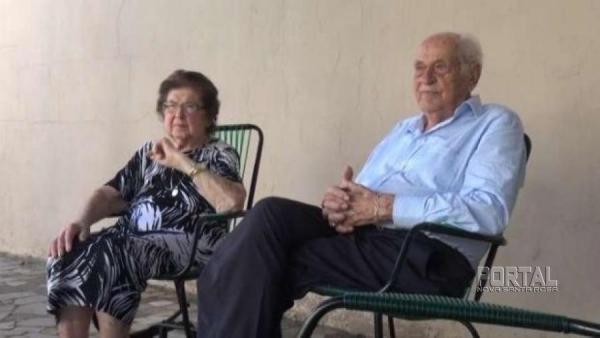 O casal se conheceu em São Luiz Gonzaga, no Rio Grande do Sul, onde se casaram em 5 de abril de 1948. (Foto: Jornal de Toledo).