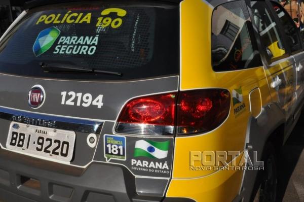 Policiais de Guaíra recuperaram a moto. (Foto: Arquivo)