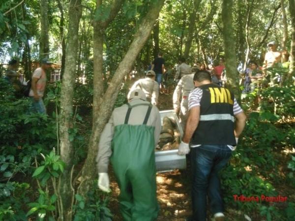 A vítima do sexo feminino não havia nenhum tipo de identificação. (Fotos: Enrique Alliana)