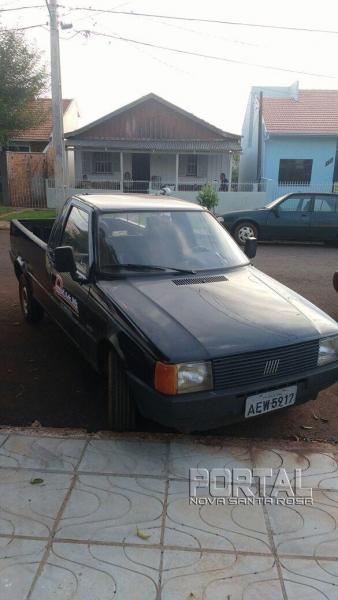 O veículo foi recuperado pela PM. (Foto: PM)