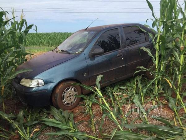 O veículo deve ser recolhido ainda hoje. (Foto: Portal Nova Santa Rosa)