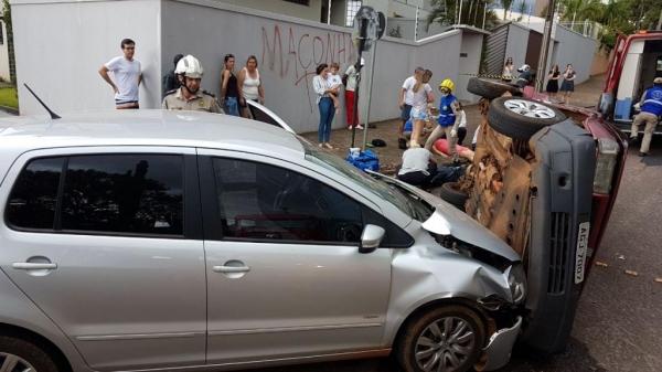 Pelo menos cinco pessoas ficaram feridas.(Foto:CGN)