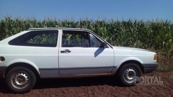 O veículo foi furtado hoje em Cascavel. (Foto: PM)