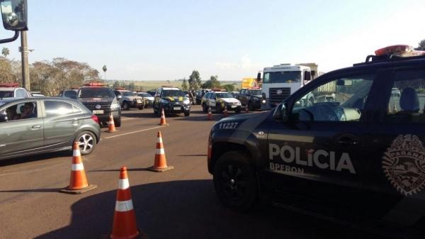 A Operação Muralha tem como objetivo o combate ao contrabando, descaminho e outros crimes de fronteira. (Foto: Assessoria)