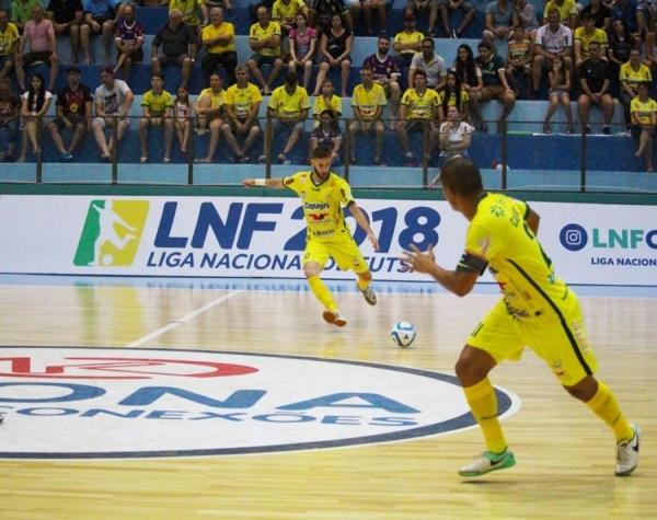 Copagril Futsal enfrenta a Intelli hoje pela Liga Nacional (Foto: Divulgação )