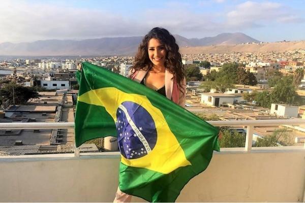Miss Santa Helena participará de concurso no Peru (Foto: Divulgação )