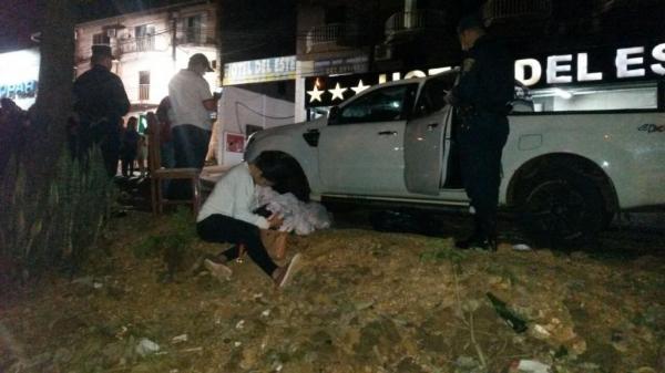 19 tiros foram disparados contra o veículo. (Foto: Vanguardia)