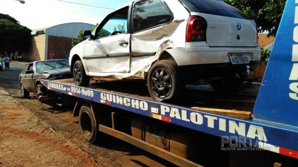 Não houve feridos no acidente,(Foto: Portal Palotina)