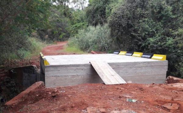 Ponte sobre o Arroio Independente.(Foto: Assessoria)