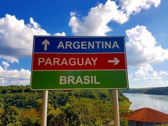 Tríplice fronteira. (Foto: Divulgação)