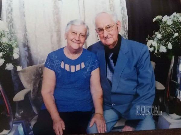 Canisio Henz e Maria Ida Henz. (Foto: Divulgação)