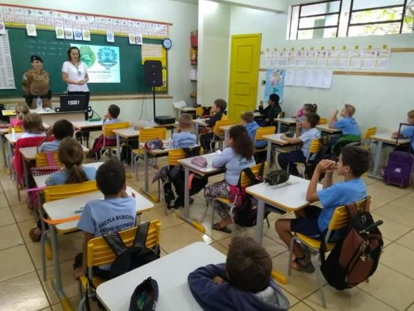 Projeto Cidadania no Trânsito continua. (Foto