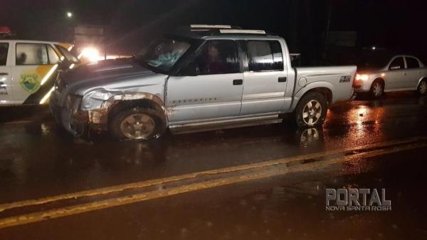 O acidente aconteceu na PR 182.(Fotos: Portal Palotina)