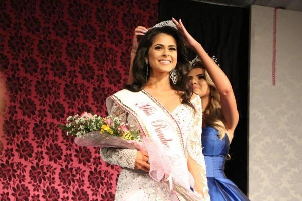 Camila de Oliveira foi eleita a Miss Rondon 2018. (Fotos: Divulgação)
