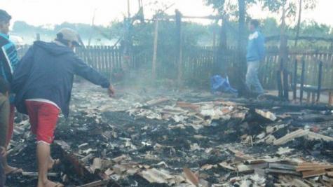 Duas mulheres foram encontradas carbonizadas .(Foto; Tribuna  Popular)