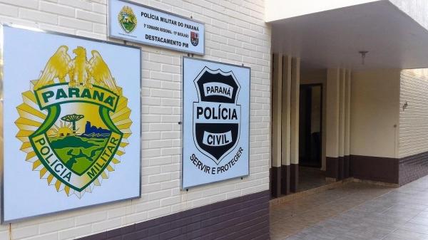 O marido procurou os policiais. (Foto: Portal  Nova Santa Rosa)