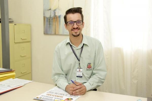 Diretor do Departamento de Cultura, Fabiano Cassimiro (Foto: Assessoria )