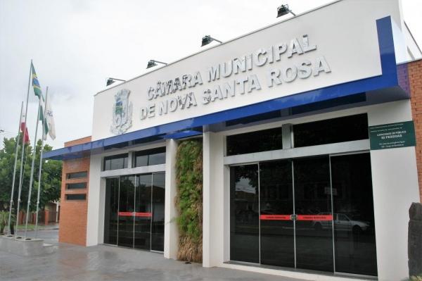 Câmara Municipal. (Foto: Portal Nova Santa Rosa)