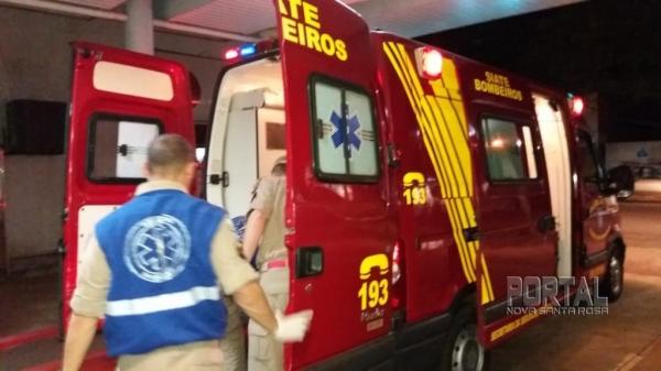 O Siate atendeu o acidente. (Foto: Marechal News)