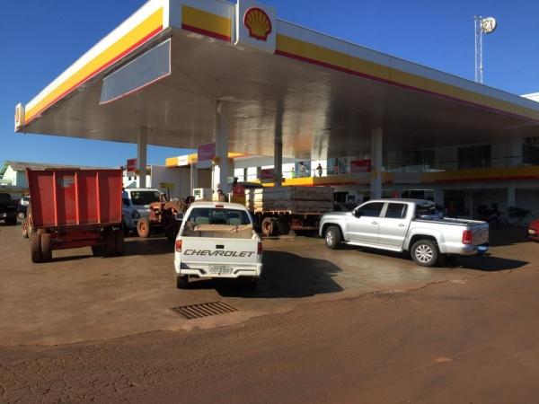 Gasolina e diesel chegam amanhã (01). (Foto: Portal Nova Santa Rosa)