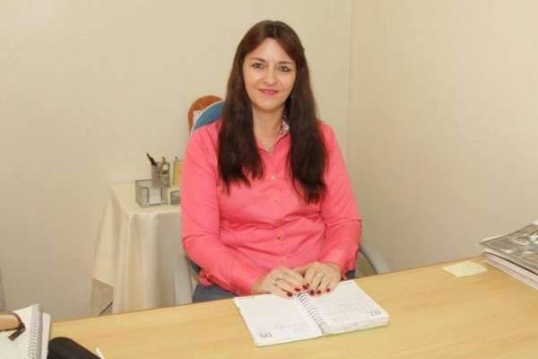 Secretária de Educação e Cultura, Nilza Gerling.. (Foto: Assessoria)