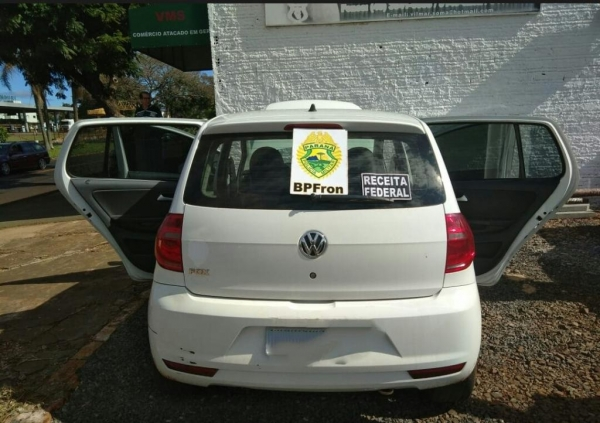 O veículo foi comprado por 4 mil; (Foto: BPFron)
