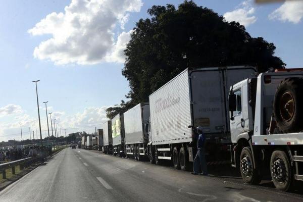 O tabelamento do frete foi uma das reivindicações da greve dos caminhoneiros (Foto: Valter Campanato/Agência Brasil )