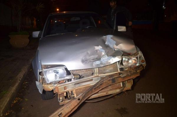 Uma pessoa ficou ferida. (Fotos: Bogoni)