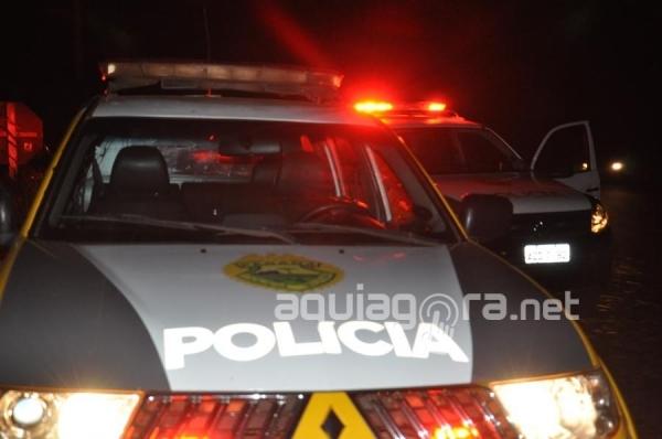 Mais uma vez a casa de Renan foi vítima dos marginais (Foto: Cristine Kempp/AquiAgora.net )