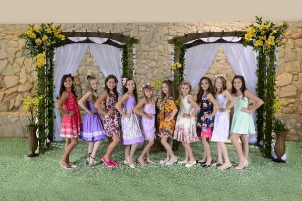Candidatas a Princesa das Orquídeas 2018 já estão definidas.(Foto: Assessoria)