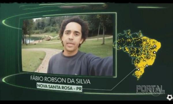 A gravação foi ao ar nesta sexta-feira (22). (Foto: Rede Globo)