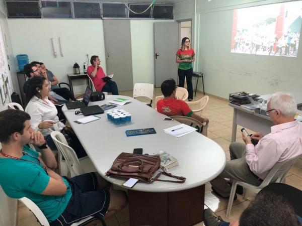 A reunião marcou o início dos preparativos para realização 4ª Corrida da Reforma. (Fotos: Assessoria)