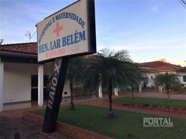 Hospital Lar Belém de Nova Santa Rosa. (Foto: Portal Nova Santa Rosa)